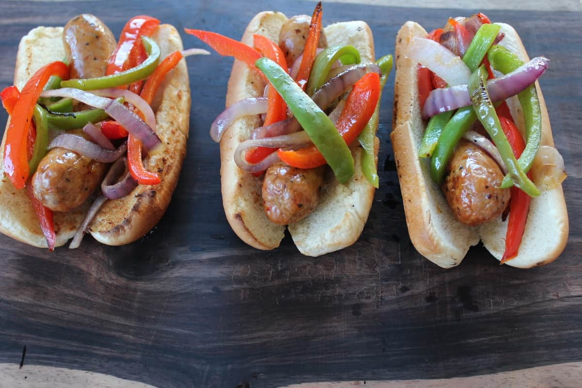 Boston Sausage and Peppers
