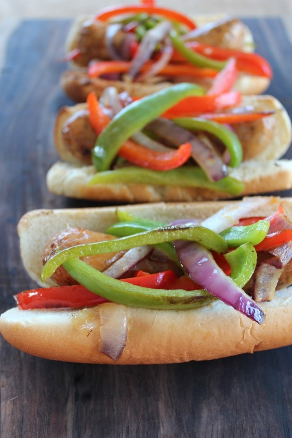 Grilled Italian Sausage and Peppers Recipe