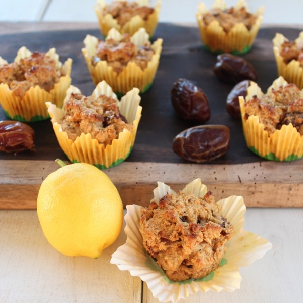 Carrot Date Muffin Recipe