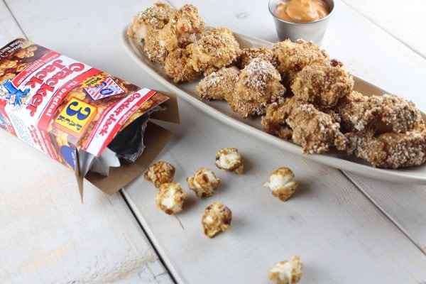 Cracker Jack Crusted Chicken