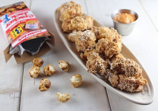 Cracker Jack Popcorn Chicken Recipe