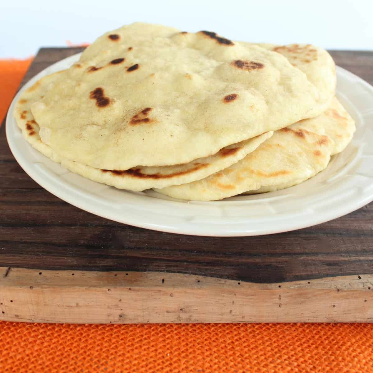 Pan Fried Roti Bread