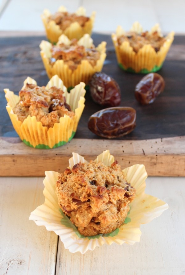 Gluten Free Date Muffins