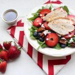 Strawberry Ricotta Salad