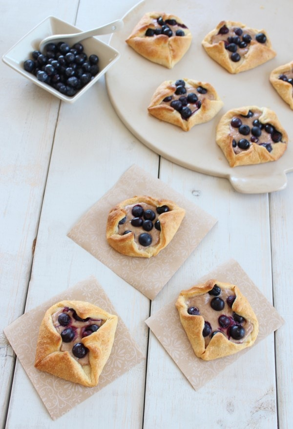 Blueberry Breakfast Pastries