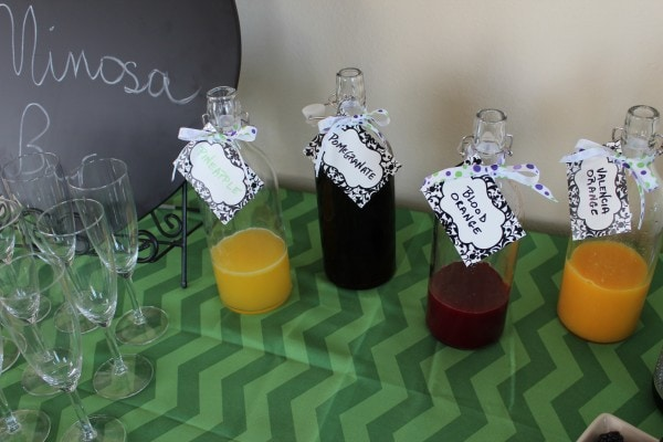 Mimosa Bar Juice