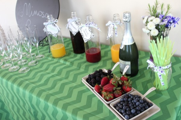 How to Make Your Own Mimosa Bar