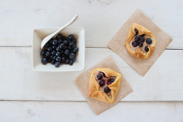 Blueberry Danishes