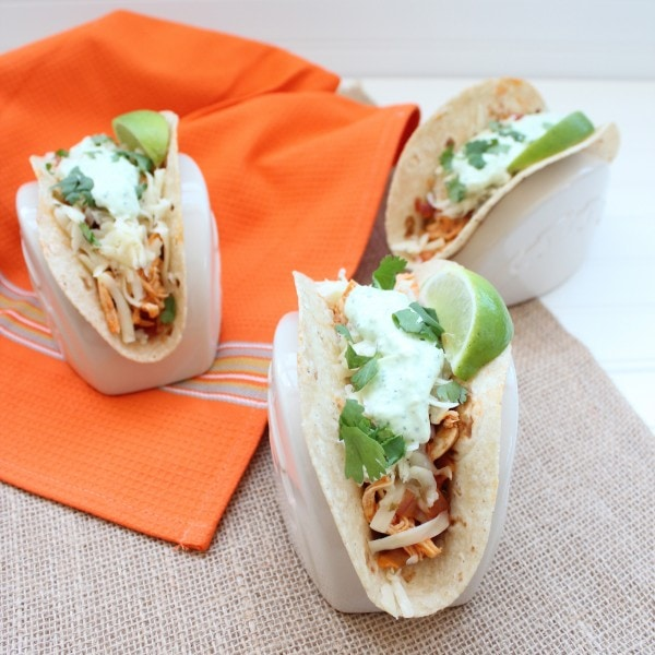 Buffalo Chicken Taco Recipe