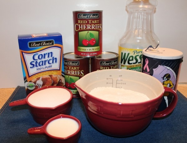 Cherry Pie Ingredients