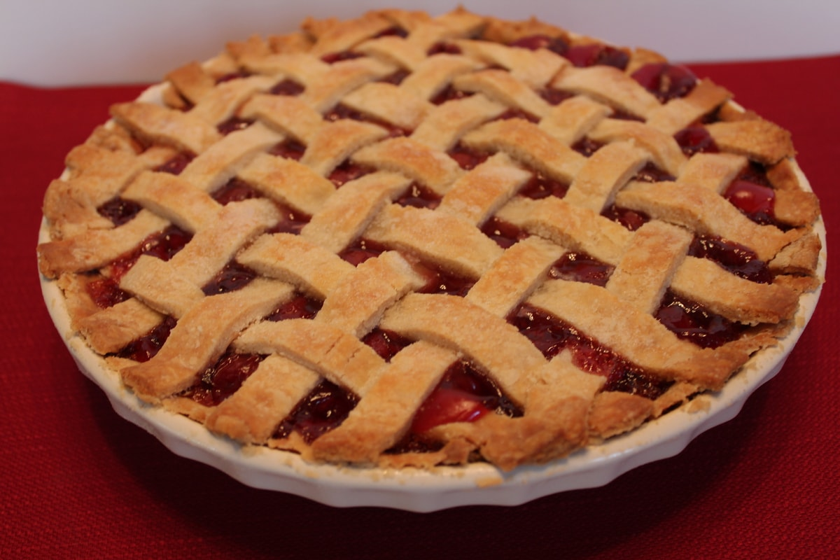 Moms Cherry Pie Recipe begins with the perfect crust, a warm cherry ...