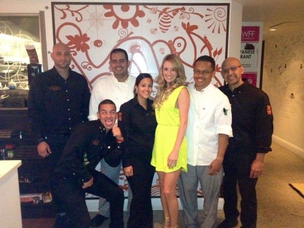Whitney Bond with Aijo Brickell Staff