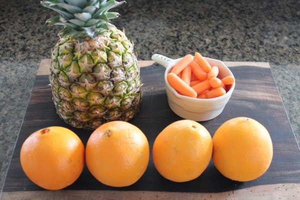 Orange Carrot Pineapple Juice