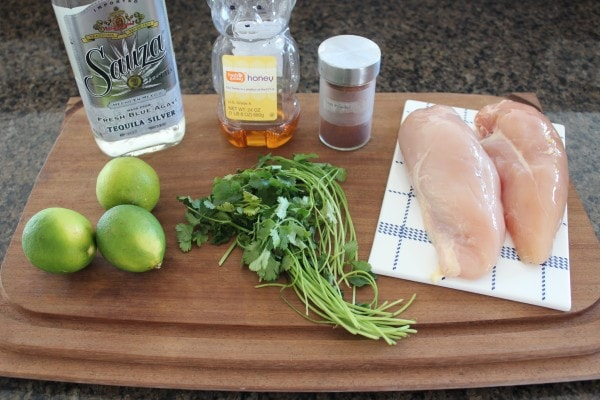 Tequila Lime Chicken Ingredients