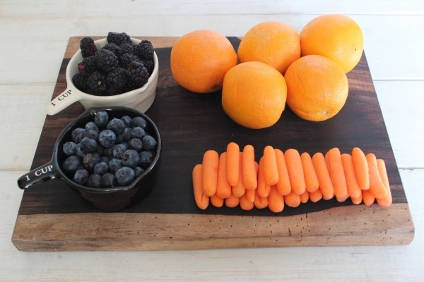 Berry Citrus Juice Ingredients