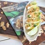 Thai Chicken Salad on Endive Spears
