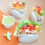 Grilled Chicken Caribbean Pita Pockets