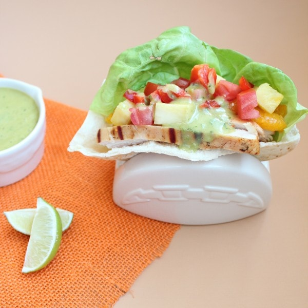 Tequila Lime Chicken Pita