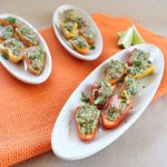 Guacamole Stuffed Peppers