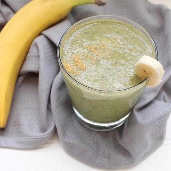 Banana Avocado Green Smoothie