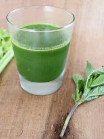 Celery Pear Healthy Green Juice