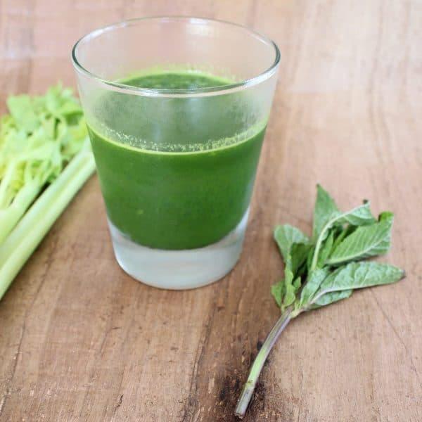 Celery Pear Healthy Green Juice