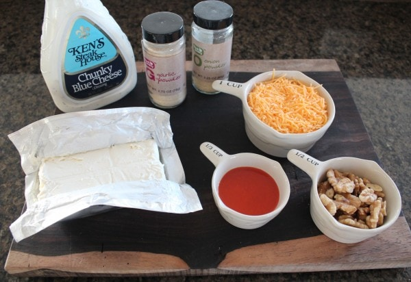 Buffalo Cheese Ball Ingredients
