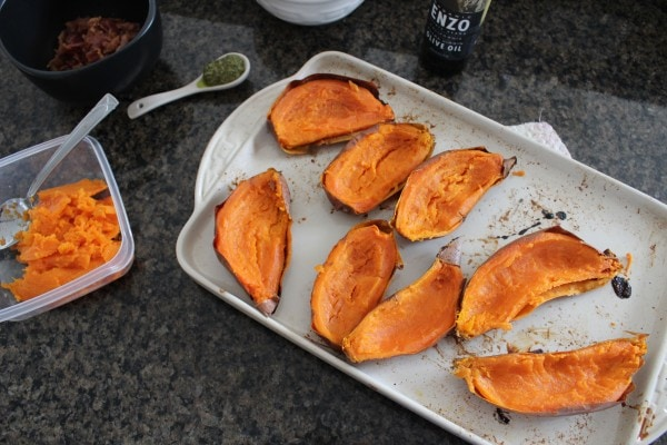 Paleo Sweet Potato Skin Recipe