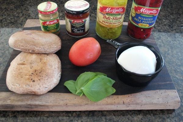 Portobello Caprese Sandwich Ingredients