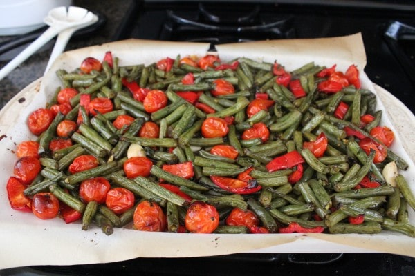 Roasted Green Beans and Tomato Recipe