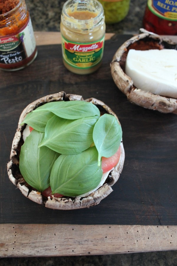 Portobello Caprese Sandwich Recipe