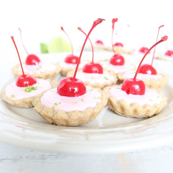 Cherry Limeade Mini Pies