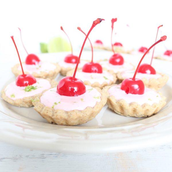 Cherry Limeade Mini Pies