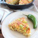 Gluten Free Jalapeno Cheddar Cornbread