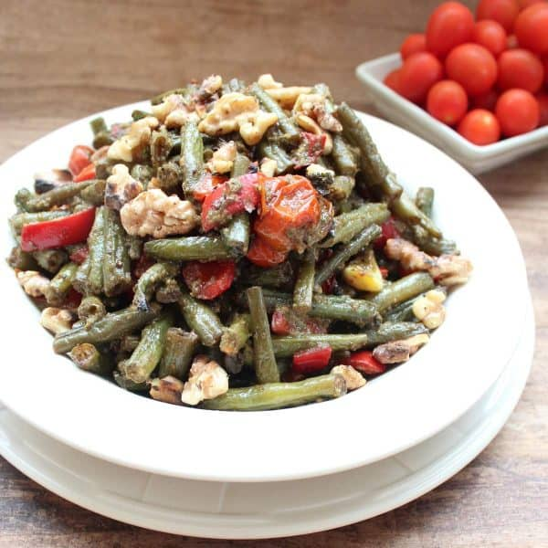 Roasted Green Bean Salad Recipe