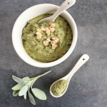 Paleo Walnut Sage Pesto