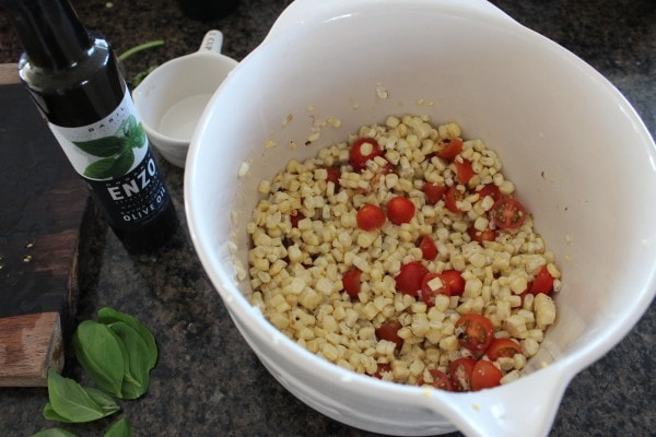 Italian Corn Salad Recipe