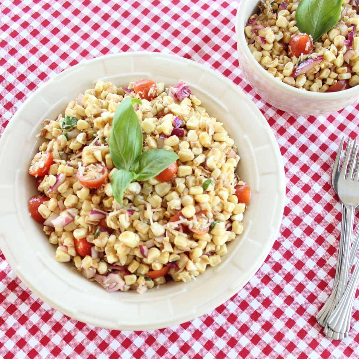 Charred And Herbed Corn Salad With Crab Recipes — Dishmaps
