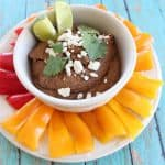 Spicy Buffalo Black Bean Dip