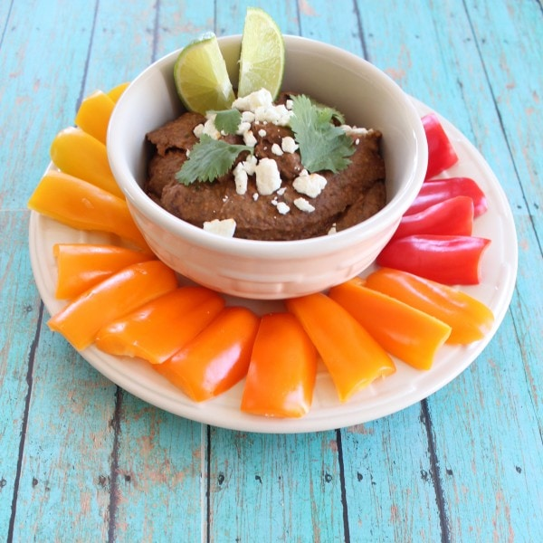 Buffalo Black Bean Dip