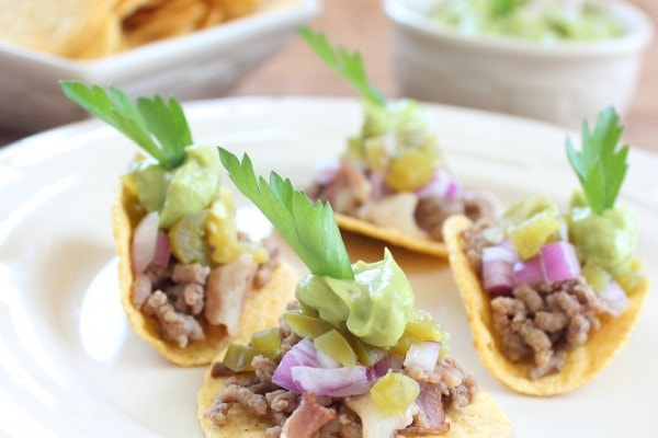 Mini Beef and Bacon Tacos
