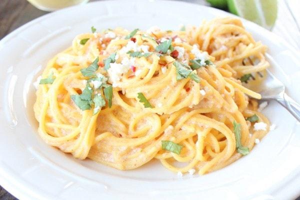 Gluten Free Chipotle Alfredo Pasta