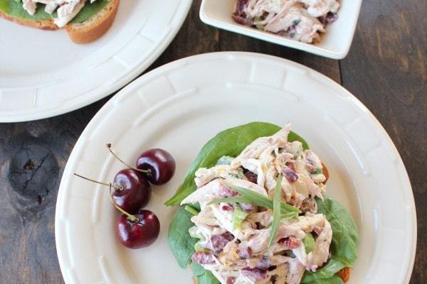 Cherry Tarragon Chicken Salad Sandwich
