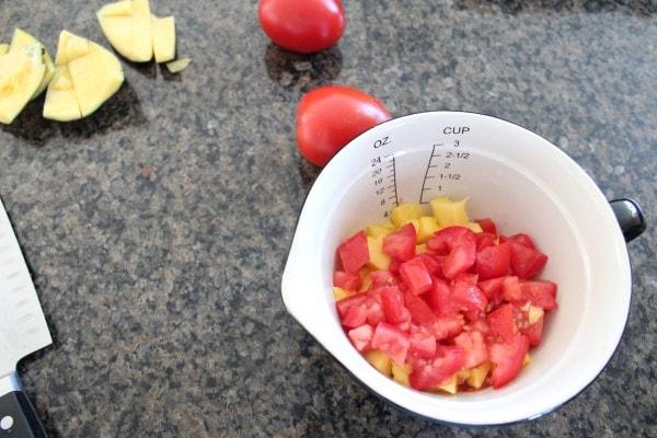 Tomato Mango Salsa Recipe