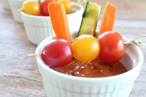 Vegetables with Ancho Chili Sauce