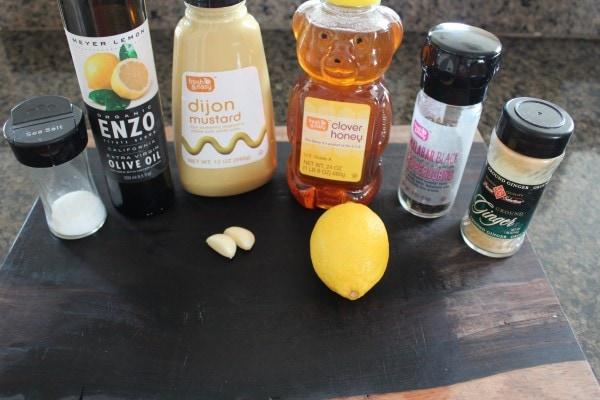 Honey Dijon Salad Dressing Ingredients