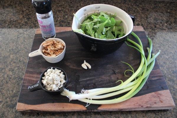 Walnut Blue Cheese Pesto Ingredients