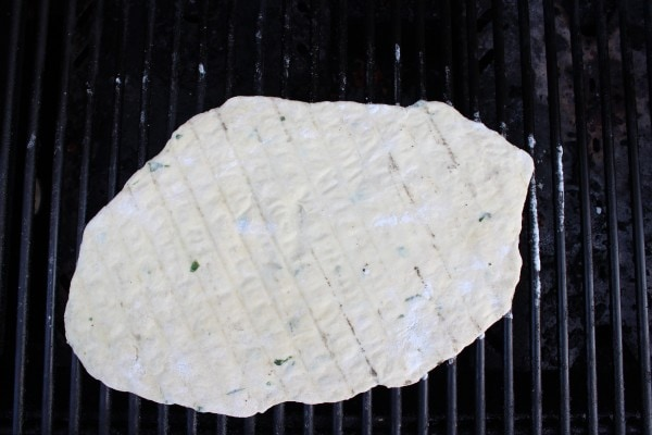 Grilled Homemade Flatbread