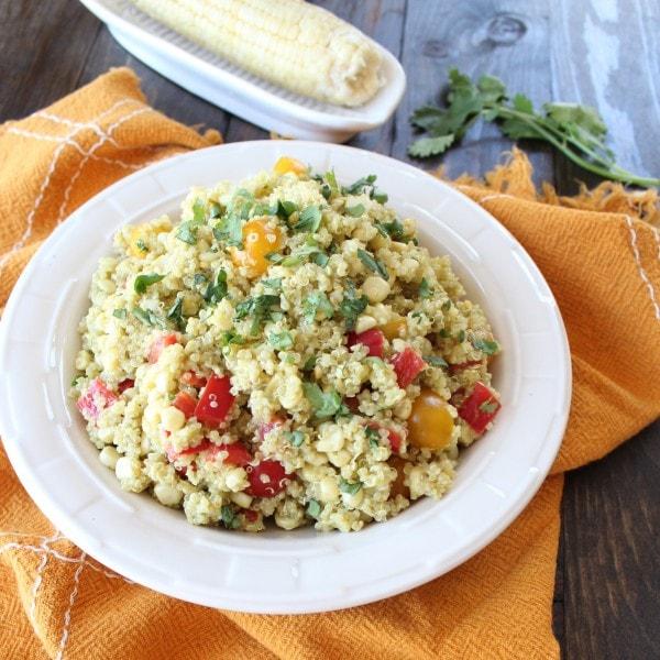 Quinoa Corn Salad Recipe