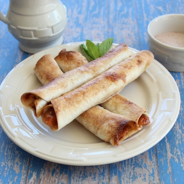 Apricot Rolled Tacos